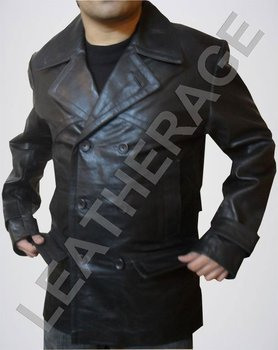 Dr Who Leather Jacket