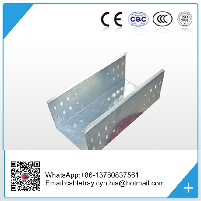 Made in china hot dip galvanised electrical steel cable tray price list china supplier manufacturer