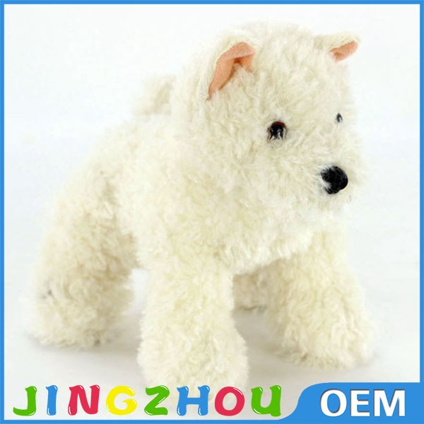 Top Hot Sell Fuzzy Plush Animal Stuffed Dog Toy For Sale
