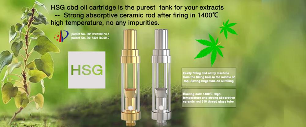 Health medical oil vape cartridge 510 ceramic coil wickless 0.5ml 0.8ml and 1.0ml glass tank thc cbd cartridge