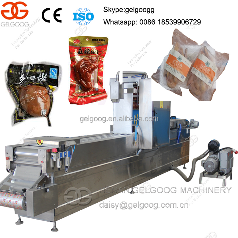 Pig Trotters Seafood Ham Automatic Vacuum packaging machine