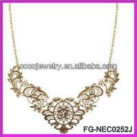 European and USA hot selling hollow out necklace one direction