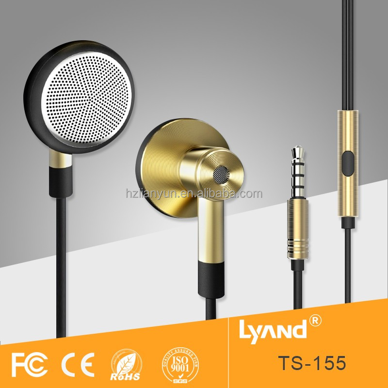Promotional eraphones hanging headset electronic ear buds china wholesale market