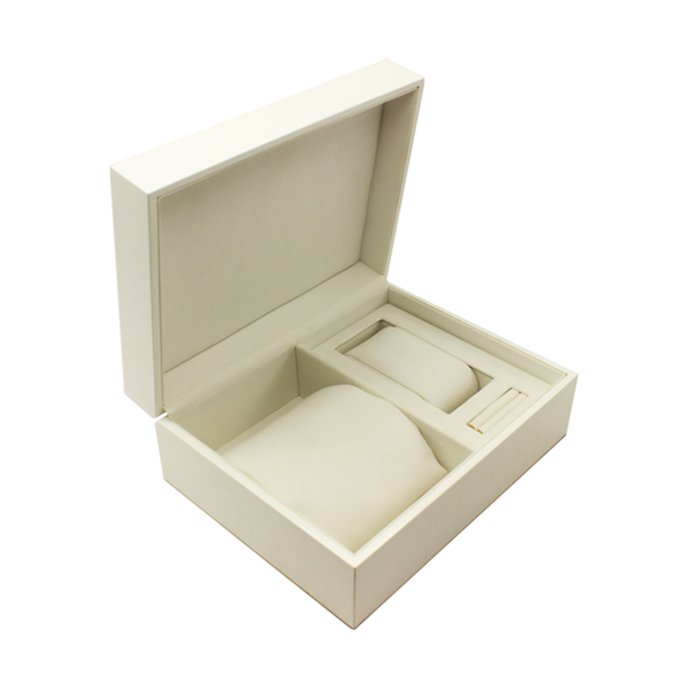 Low Cost White Gift Leather Watch Box