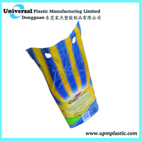 Free design plastic bread packaging bag