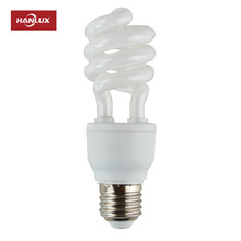 High Quality 11w 15w 20w 25w Half Spiral CFL Energy Saving Light Bulb Lamps