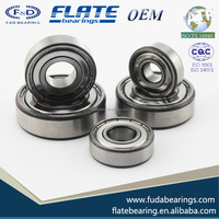 F&D Bearing 6200 6201 6206 6212 6001 6005 6009 6012 6301 6302 6303 Open 2RS ZZ ZN C3 C0 Ball Bearing Deep Groove Ball Bearing