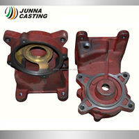 ductile cast iron casting hydraulic pump part pump housing