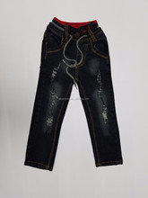 New model baby jeans children jeans vintage ripped motor motorcycle denim skinny biker trousers jeans