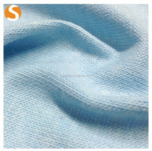 Plain Dyed Arycile Cotton Hacci Kint fabric for Sweater