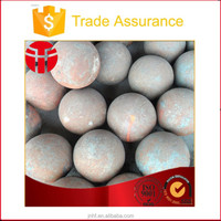 125mm superior quality forged grinding ball for gold mines