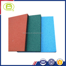 Rubber paving flooring mat for playgound