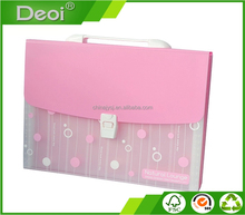 custom PP file box with handle