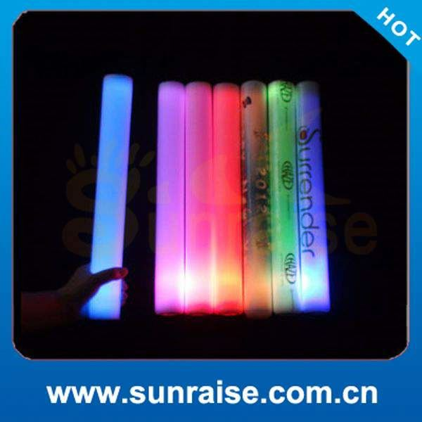 Factory Wholesale sunjet color changing led party foam sticks Factory in Shenzhen