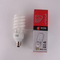 Direct factory Buy Twist Tube 9W Pure Triphosphor CFL Lamp Bulbs E27 B22 Base Cell Half Spiral Energy Saving Light