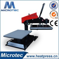 small heat press machine automatic heat transfer Digital Swing Away Heat Press