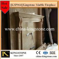 China manufacturer natural stone marble electric fireplace buyer price