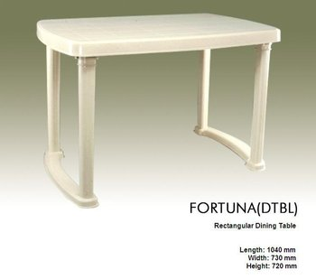 Plastic dining table buy plastic table product on - Set de table pvc ...