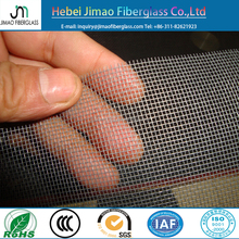 Fiberglass invisible window screen / fiberglass mosquito net screen in black and grey color