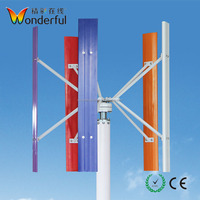 Household wind power system wind 10kw maglev generator vertical axis 380v 20kw wind turbine for sale