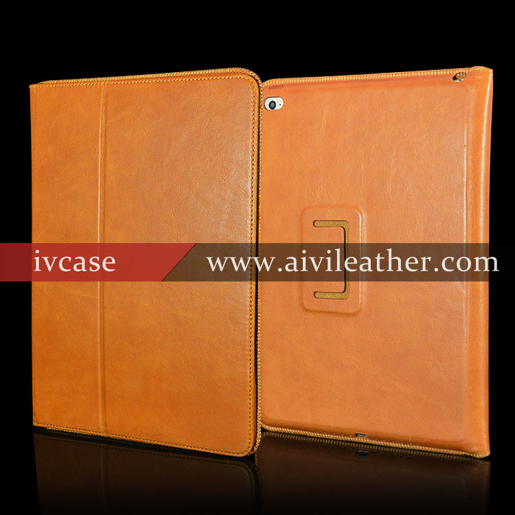 Genuine Leather Shockproof Case For Tablet Ipad Air 2 Case Leather