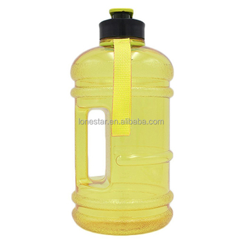 high quality gym fitness 2.2l gym shaker water bottle with handle