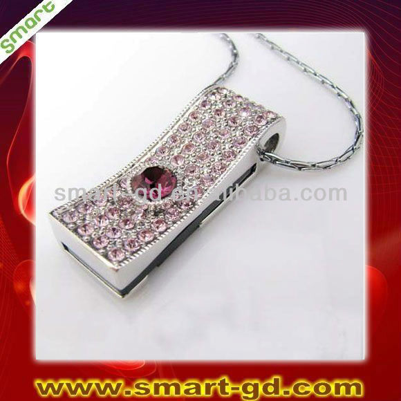 Fashion jewelry memoria usb 1gb 2gb 4gb 8gb 16gb