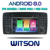 WITSON ANDROID 8.0 CAR DVD GPS NAVIGATION FOR MERCEDES BENZ R CLASS W251 R280 R300 R320 R350 R500 2006 2013