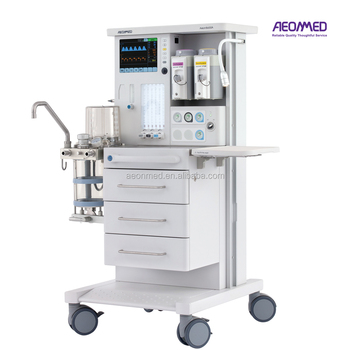 CE marked big screen anesthesia machine hospital for operation use