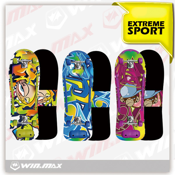 Winmax brand cheap hot sell PVC wheel skateboard for sale