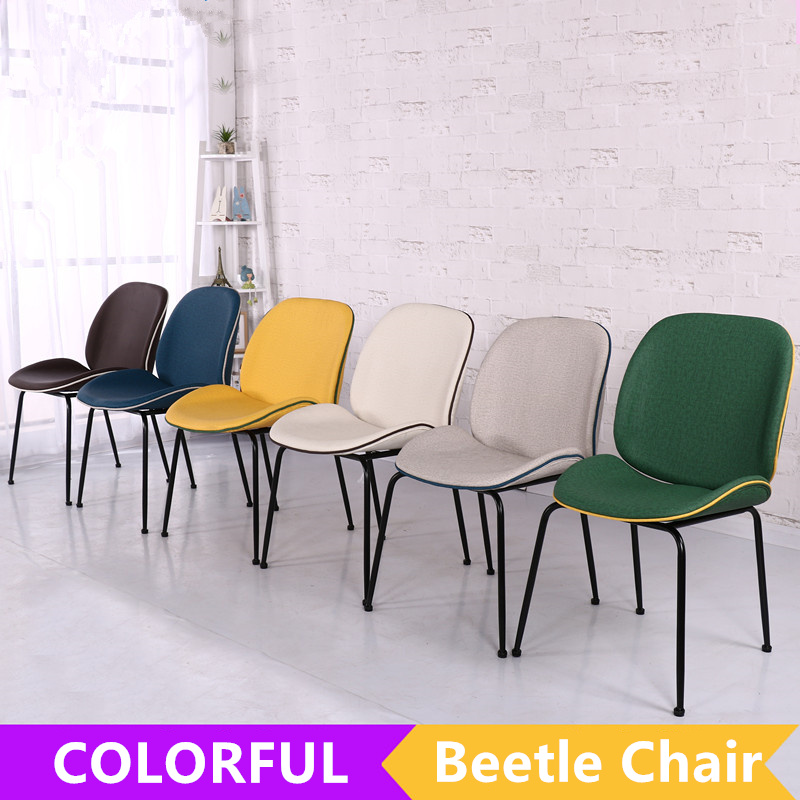 Metal Leg For Antique Replica Gubi Beetle Fabric Leather Dining Chair   Buy  Replica Gubi Beetle Chair,Fabric Chair,Antique Chair Product On Alibaba.com