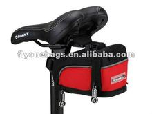Saddle bags for different kinds of bicycles