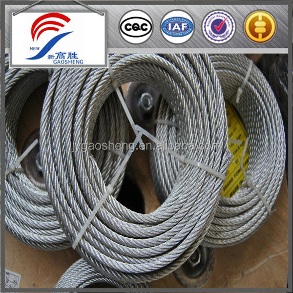 Corrosion resistant twisted wire rope for sale