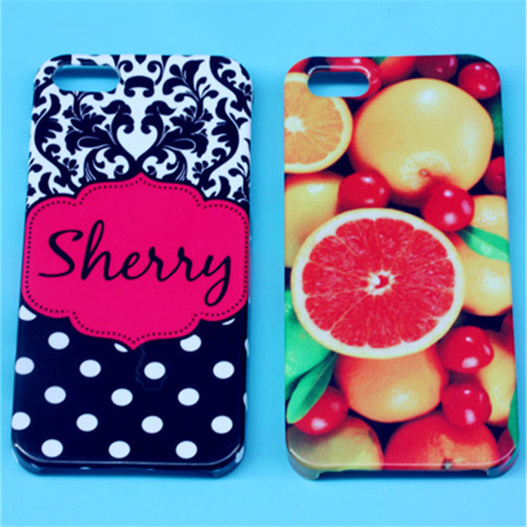 JESOY New 3D Sublimation Blank Case Products For iphone 5, For iphone Compatible Brand Cell Phone Cover Case