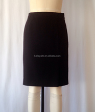 ladies A line skirt uniform