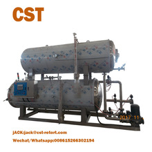 water immersion full automatic industrial horizontal retort sterilizer the autoclave steam sterilizer
