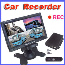 Night vision car digital dvr video recorder with car security camera record