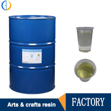 Factory wholesaling Transparent liquid Unsaturated Polyester Resin Price for casting Arts and Crafts