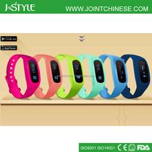OEM/ODM Bluetooth Bracelet Pedometer Wrist Band Step Counter and Calorie Meter