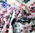Wholesale High Quality Beautiful Flower Digital Printing 100% Polyester Chiffon Fabric For Dress And Blouse