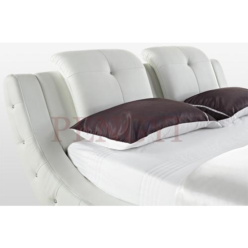 2016 moderne meubles de maison vague forme en cuir lit id de produit 60407609534. Black Bedroom Furniture Sets. Home Design Ideas