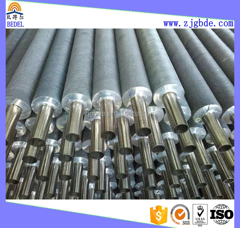 304 316L 317L stainless steel pipe with aluminium fin tubes with good quality for air cooler