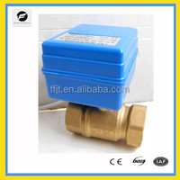 DC3-6V ,DC12V 2-way electric operated valve for Solar thermal,under-floor,rain water,irrigation,plumbing service
