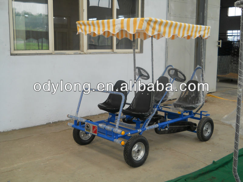 Hot sell 4 person bike,adult pedal car,4 wheel bike,pedal go kart F4150