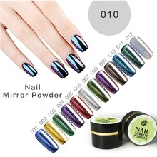 2016 best selling product mirror effect nail chrome powder