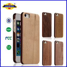 Natural Real Wood Hybrid Hard Back Mobile Phone Cover Case For Apple iphone 4s 5s 6