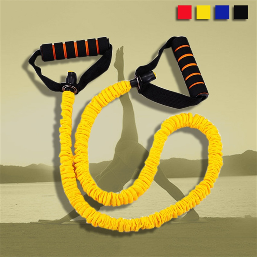 Factroy Wholesale Flexible Resistance Band Fitness Trainer Rope Running Jump Leg Strength Agility Training Strap