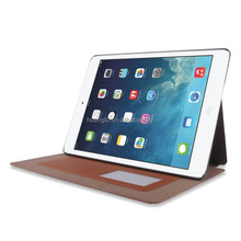 Shockproof heavy duty anti-slippery synthetic leather case for Ipad Air