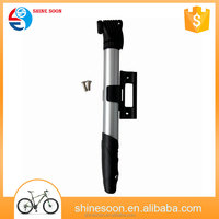 Fit Schrader & Presta valve high pressure bicycle alloy air mini pump