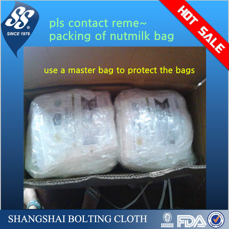 FDA nylon nut milk mesh bag /nut milk filer bag / nut milk bag/filter bag